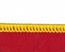 Bedfordshire Flag Embroidered Rectangular Patch